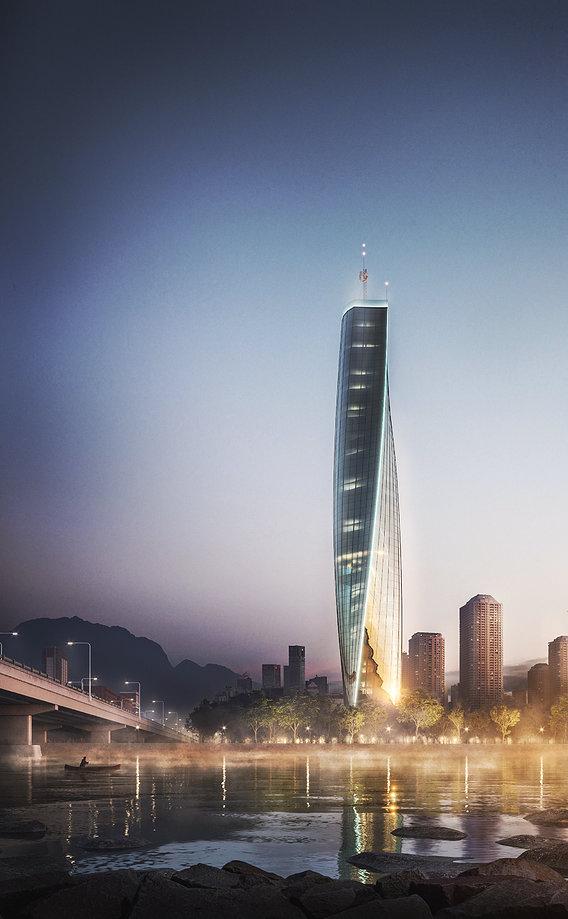 Skyscraper concept design
