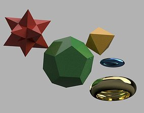 3D print model Complex geometric shapes