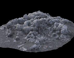 Volcanic Rock V12 3D