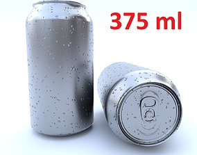 3D asset Beverage can 375 ml