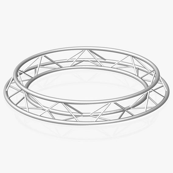 Circle Triangular Truss (Full diameter 200cm)