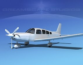 Piper Cherokee Six 260 Bare Metal 3D