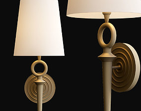 Bristol Single Sconce 3D model