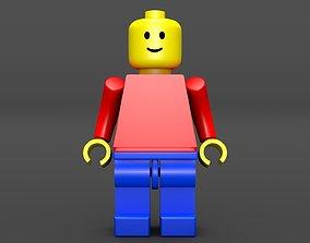 Lego Man - Standard Mini Figure 3D asset
