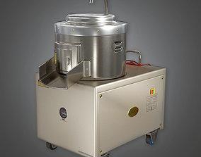Potato Peeling Machine KTC - PBR Game Ready 3D asset