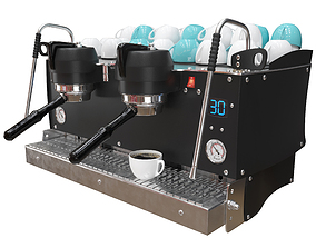 3D model Synesso S200 Espresso Machine