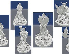 Collection of Ogre Figurines 3D print model