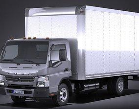 3D Mitsubishi Fuso BOX 2016