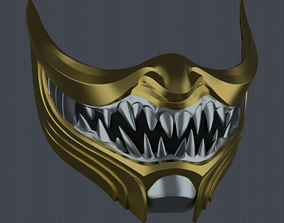3D printable model MK11 Scorpion Mask V8 - STL File