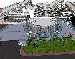 Region-City-School 31 3D model