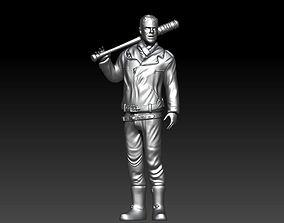 Negan The Walking dead 3d print