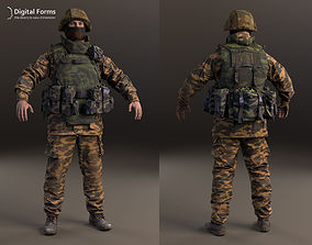 6b27 Russian soldier RAW 3d scan data
