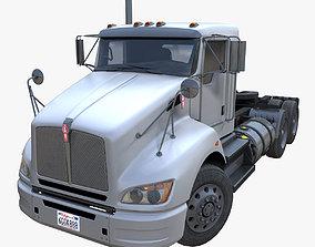 Kenworth t440 semitruck 3D asset