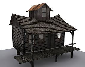 3D model game-ready House max