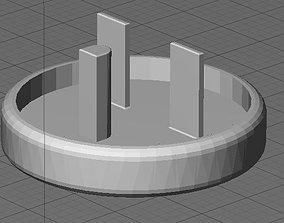 3D print model Plug - Cap for Small 220V