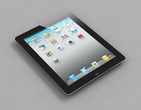 Apple iPad 3 3G 3D Model