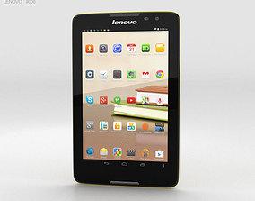 3D model Lenovo Tab A8 Yellow