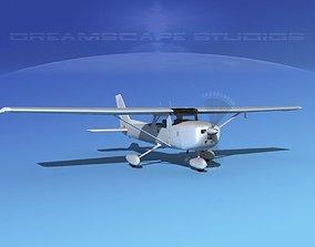 Cessna 150 Commuter Bare Metal 3D