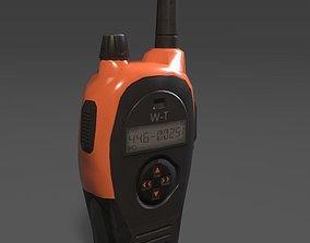 Walkie talkie 3D asset