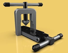 3D asset IMPERIAL FLARING TOOL