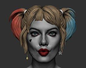 Harley Quinn 3D printing model