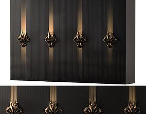 Luxury Wardrobe 3D asset