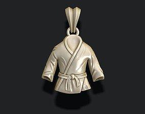 Kimono pendant 3D print model
