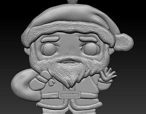 3D print model christmas decoration sanda