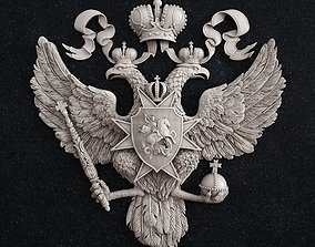 3D print model Coat of arms of Russia eagle