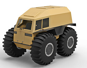 3D model Cross country vehicle SHERP