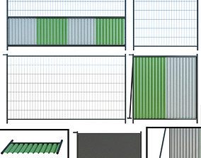3D Fence Fencing for building