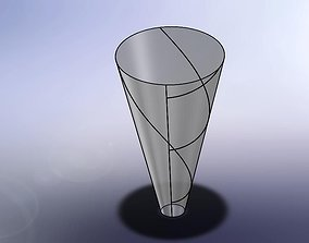 3D model Huge cone - sheet metal