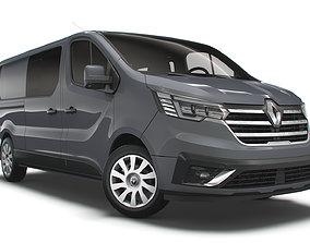 Renault Trafic Combi LWB 2021 3D