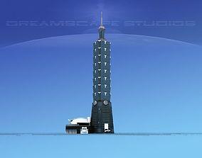 3D Taipei 101 World Financial Center