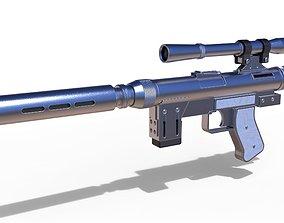 3D Blaster pistol SE-14R of Lando Calrissian
