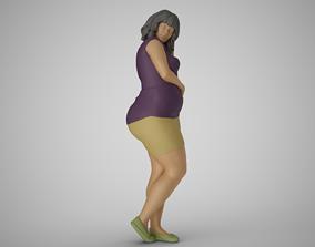 3D print model Modern City Woman 5