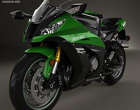 Kawasaki ZX-10R 2014 3D model