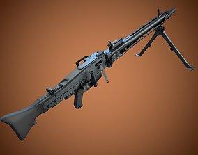 MG3 machine gun 3D