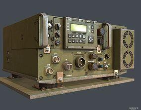3D model PBR Military Transceiver