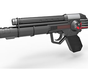 Skeletor trooper pistol from Masters of the Universe 3D 1