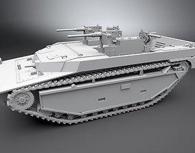LVT 4 Water Buffalo Scale model