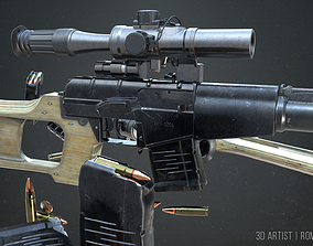 3D model VSS VINTOREZ LOW POLY