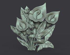 Lily Flowers 3D print model