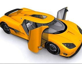 Koenigsegg CCX 3D asset