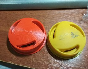 Seemann Sub SL200 flexible regulator button 3D print model