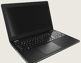 Generic Notebook Laptop 3D asset