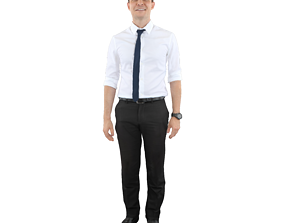 3D model No478 - Male Standing