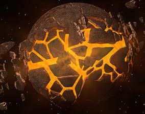 3D model Planet Explosion