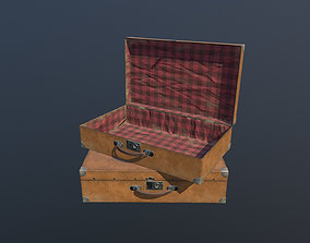 3D model Suitcase Animated PBR