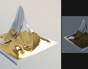 A set of geometric objects for the scene 3D